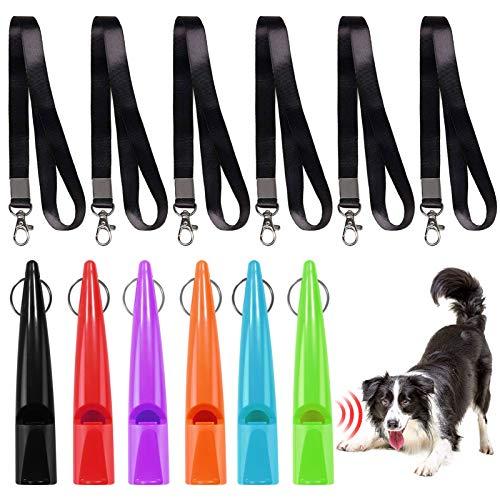 Silbato de Perros,Silbato de Entrenamiento de Perros,Perros Silbato ,silbato para perros de entrenamiento,Silbato de Perro - Ajustables,Silbato de ultrasonidos ,Clicker para Entrenar Perro (6 PCS)