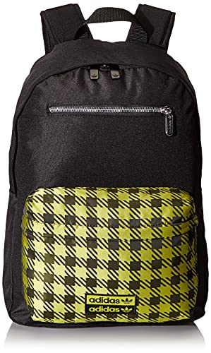 adidas Ryv, IXW84-GD4978 Unisexe Adulte Ryv Sac à Dos, Noir / Vermed, Taille Unique mixte adulte, Talla Única