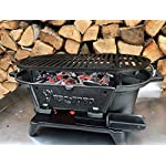 BBQ-Toro - Cast Iron Barbecue with Cooking Grate - 50 x 25 x 23 cm – Charcoal Camping Grill Hibachi-Style 5