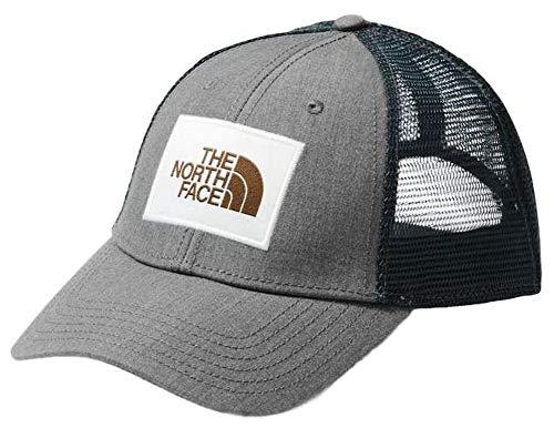 The North Face Men's Mudder Trucker Hat, TNF Medium Grey Heather/Vintage White, OS