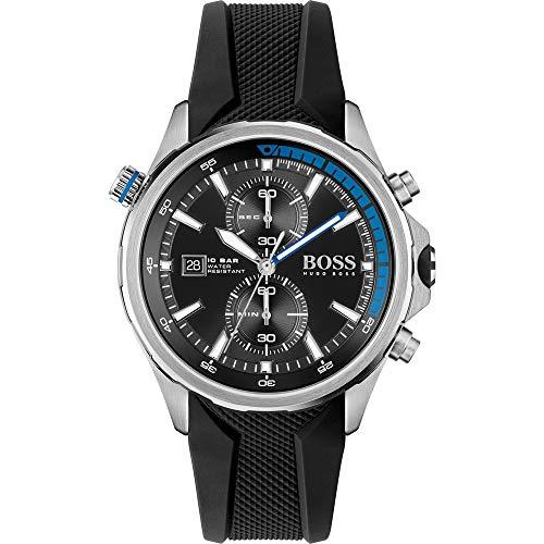 Hugo Boss Reloj Analógico para Hombre de Cuarzo con Correa en Silicona 01513820