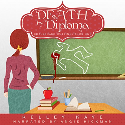 Death by Diploma audiobook cover art