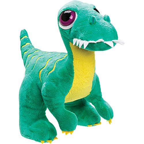 Suki Gifts - 14377 - Peluche - Dinoz - Velociraptor, Vert