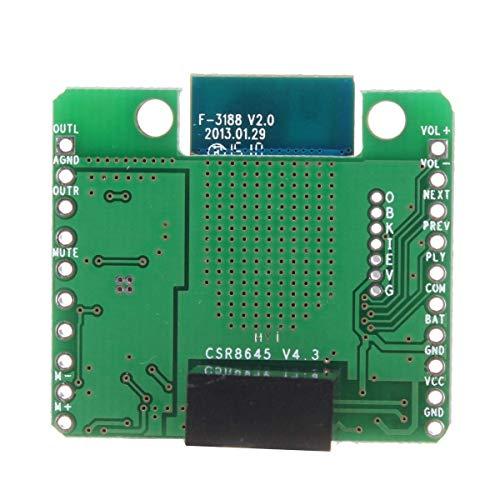 XUSHEN-HU 12 V CSR8645 APT-X HiFi Bluetooth 4.0 Amplificador Estéreo Junta Receptor Amplificador Módulo Módulo Módulo de controlador receptor
