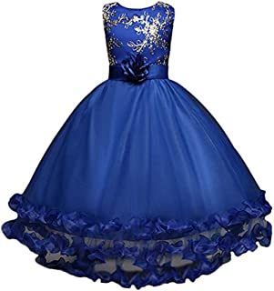 Gorgeous Girls' Princess Evening Party Long Tailing Dress up