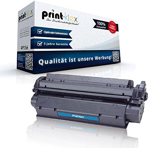 Print-Klex Kompatible Tonerkartusche für HP LaserJet 1200 SE LaserJet 1200 Series LaserJet 1220 LaserJet 1220 SE 15X HP15X C7115X HP 15X HP15 Black Schwarz - Office Print Serie