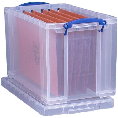 Really Useful Boîte de rangement du papier avec 10dossiers suspendus de format ministre 24 L