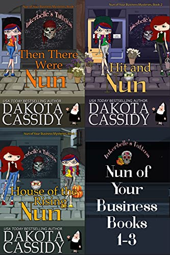 Featured Fantasy: Nun of Your Business Books 1 - 3 by Dakota Cassidy