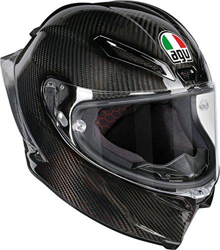 AGV Motorradhelm Pista Gp R E2205 Solid PLK, Glossy Carbon, L