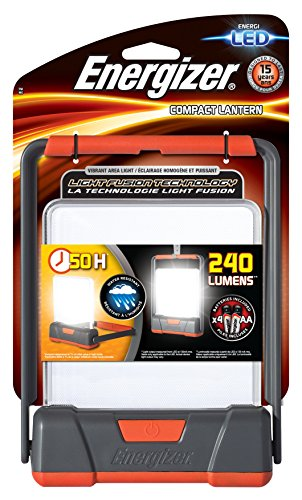 Energizer Taschenlampe Fusion Compact Lantern (inkl. 4x Mignon (AA), bis zu 150 Lumen)