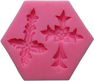 Snner Forma Flor Cruz Cruz moldes de la Torta Pasta de azúcar del Molde del Chocolate