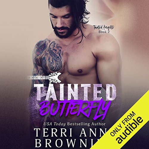 Tainted Butterfly audiobook cover art