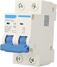 Fydun Disyuntor ac/ústico Auto 12V Coche Barco Restablecimiento de Audio Interruptor Interruptor Interruptor de Fusible 100A