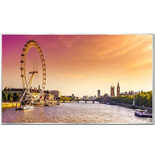 Ecowelle Infrarotheizung mit Bild | 600 Watt | 60x120x2 cm | Infrarot Heizung| | Made in Germany| 31