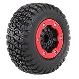 GoolRC 4pcs AUSTAR AX-3009 de Alto Rendimiento 108mm 1/10 neumáticos de Camiones Corto Curso con Llanta para Todo Terreno