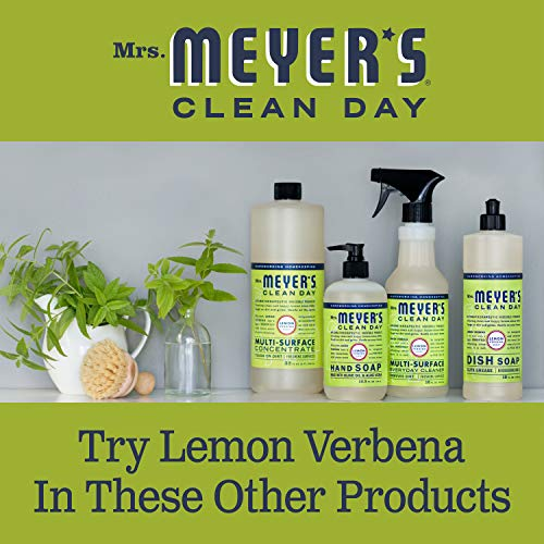 Mrs. Meyer's Clean Day Multi-Surface Everyday Cleaner, Lemon Verbena, 16 Fl Oz, Pack of 3