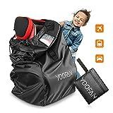 Kindersitz Tasche– Robuste Kindersitz Transporttasche Transportable Reisetasche für Autositz Schutz vor Wasserdicht + Staubdicht+Vandalismus Passt auf die meisten Marken
