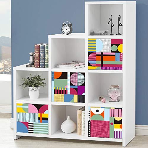 Alwayspon Pegatinas para muebles de 33 x 33 cm x 4 piezas pa