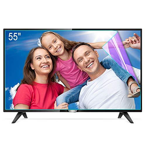 ZSLD Protector De Pantalla De TV De 55 Pulgadas, Filtro De Pantalla De Bloqueo De Luz Azul, Película Antirreflejos/Rayones, Alivio De La Tensión Ocular, para HDTV LCD LED OLED,1221 * 689 mm