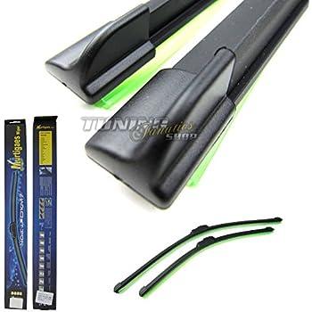 Handycop/® 2x Flex//Flat Scheibenwischer f/ür Aveo//Kalos Flach Wischer Satz Set Premium