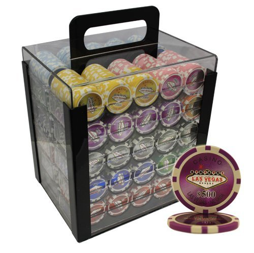 1000 las vegas poker chips - 2