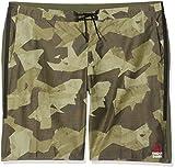 Reebok RCF Super Nasty Tactical Pantalón Corto, Hombre, Verde (hungrn), 44