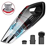 Handheld Vacuum,GOOVI Hand Vacuum Cordless with Rechargeable Quick Charge, Lightweight Hand Vac Portable Hand Held Vacuum Cordless for Home, Kitchen, Car Cleaning