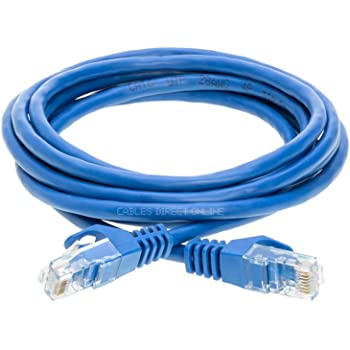 Gray ED755782 4 eDragon Cat5e Hi-Speed LAN Ethernet Patch Cable Snagless//Molded Boot