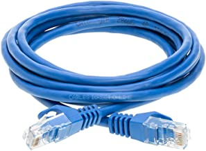 Cables Direct Online Pack of 3 Snagless Cat5e Ethernet Network Patch Cable Blue 15 Feet