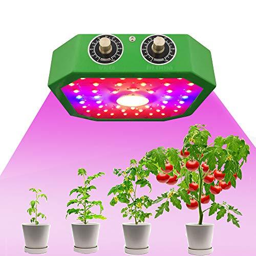 LED Plant Grow Light, Sunlike Full Spectrum Grow Lamp Con Ventilador De Enfriamiento Acelerado Incorporado, Para Plantas De Interior Veg Y Flower, Para Plantas De Germinación(1100W)