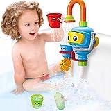 Los niños automática Wal-baño de juguete W/ducha de luz, agua pulverizada baño de juego para el baño juguetes para niños, juguetes interactivos entre padres e hijos La hora del baño