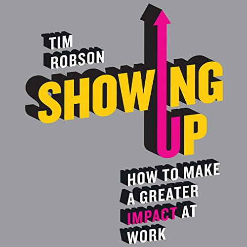 Showing Up audiobook cover art