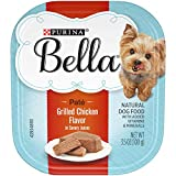 Purina Bella Natural Small Breed Pate Wet Dog Food, Grilled Chicken Flavor in Savory Juices - (12) 3.5 oz. Trays