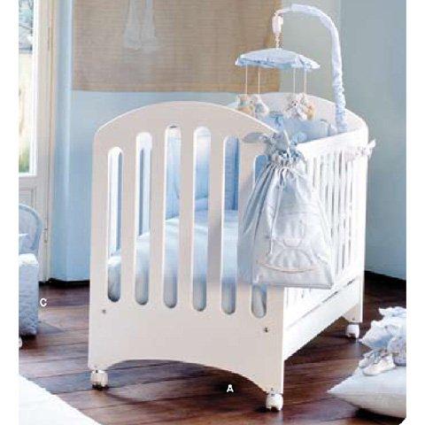 Lit à barreaux en bois pour bébé avec tiroir Cherie Picci - Dili Best BG D8428
