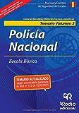 Policía Nacional. Temario. Volumen II. Ciencias Sociales y Tecnico-científicas (OPOSICIONES)