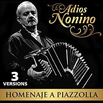 Adiós Nonino: Homenaje a Piazzolla - EP