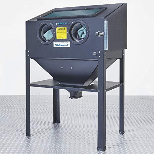 Sandstrahlkabine Standmodell - 220 Liter