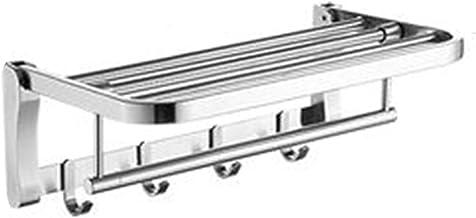 XINHU Handdoekenrek RVS Handdoekenrek 304 Badkamer Hardware Accessoires Badkamer Handdoek Bar Badkamer Rack 2 Lagen (Maat:...