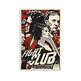 Fight Club 1 Vintage-Filmposter, gerahmtes Poster, 30 x 45