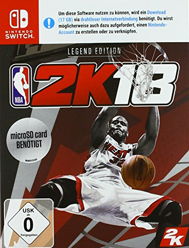 NBA 2K18 - Legend Edition - [Nintendo Switch]