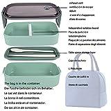 Zoom IMG-1 alkaid porta pranzo lunch box
