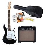 Yamaha Pacifica 012 BL Black E-Gitarre Starter Set