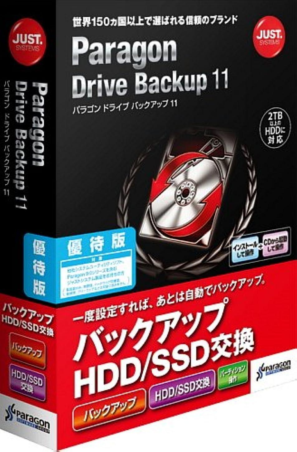 考えた要件脚Paragon Drive Backup 11 優待版