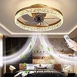 CGXYZ Ventiladores para el techo con lámpara