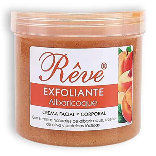 REVE Exfoliante Facial y Corporal de Albaricoque 500 ml -