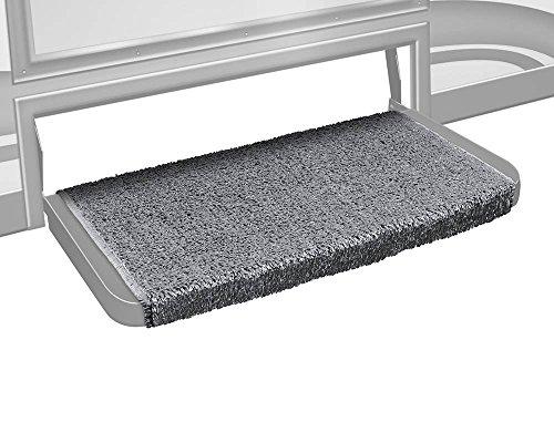 Prest-O-Fit 2-1073 Wraparound + Plus Tapis d'escalier Gris Pierre 50,8 cm