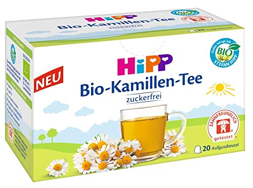 Hipp biologische kamille thee, 20 theezakjes, 30g