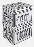 C.KREUL KüchenSet Villa Carton JOYPAC, aus Wellpappe 39124