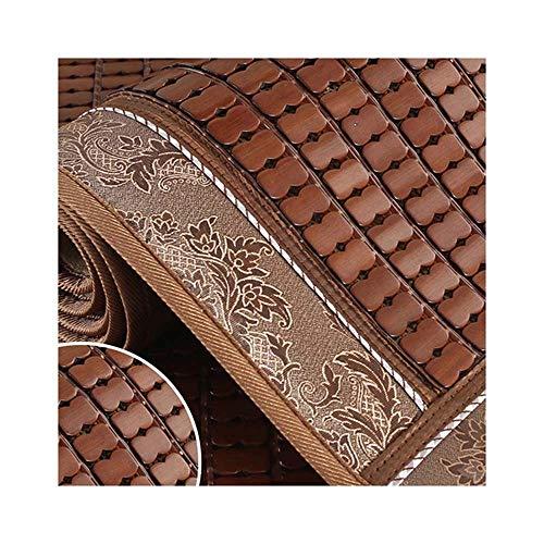 ALGWXQ Meditationsmatte Schaukelkissen Bambuspolster Einfacher und moderner Stil Höhe erhöhen Empfohlener Modeblog Geeignet für Bankküchenstühle, 23 Größen, 3 Farben (Color : A, Size : 80x180cm)