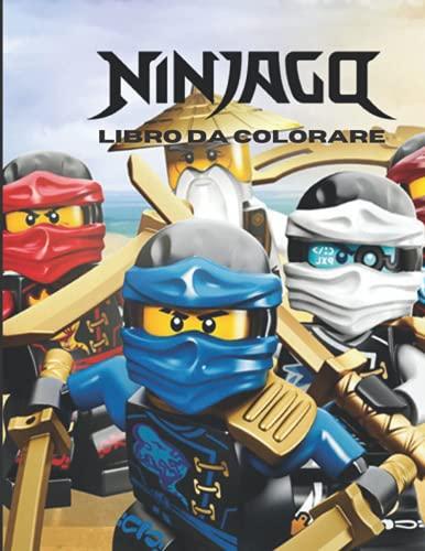 Ninjago Libro da colorare: 50 fantastiche pagine da colorare per bambini e adulti nuove e ultime immagini premium di alta qualità da disegnare.